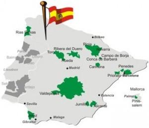 spanische Weinbau