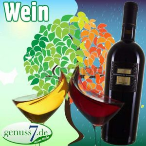 Herbst und Rotwein