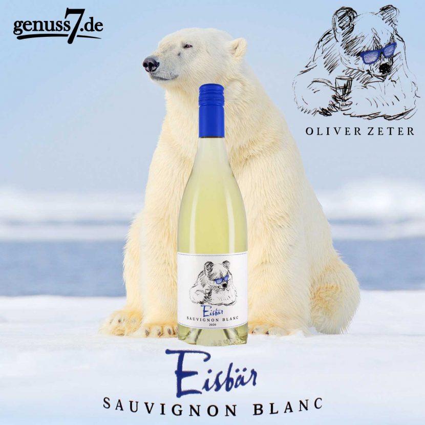 Eisbär Sauvignon Blanc von Oliver Zeter